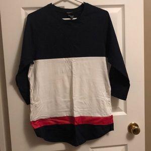Forever 21 Men's 3/4 sleeve shirt